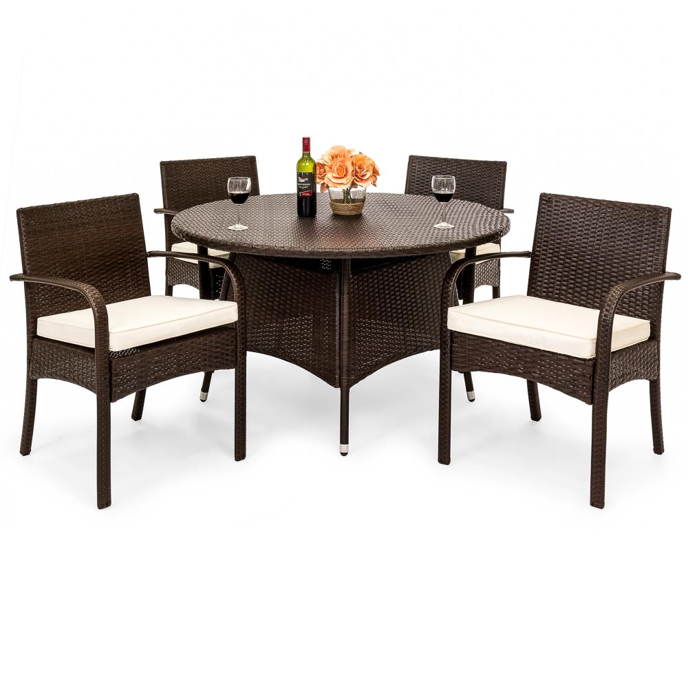 Wicker Patio Dining Set Clearance